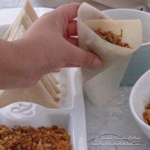 How to wrap samosa 4