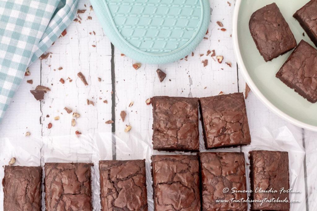 Moist Lindt Brownies