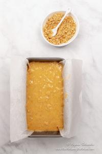 Banana bread with Self rising flour ready to bake