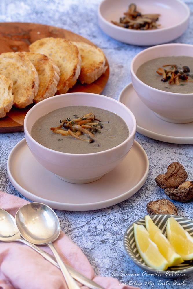 Gluten Free Cream Mushroom soup