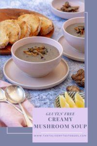 Gluten Free Cream Mushroom soup pin2