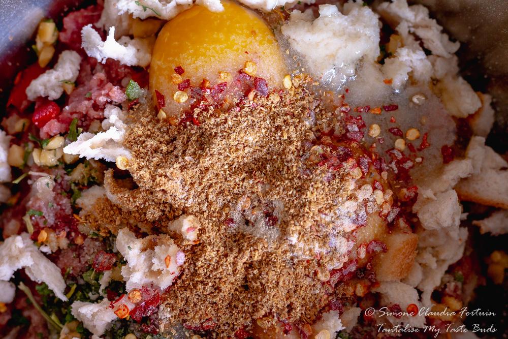 Cape Malay Mince Frikkadel recipe process