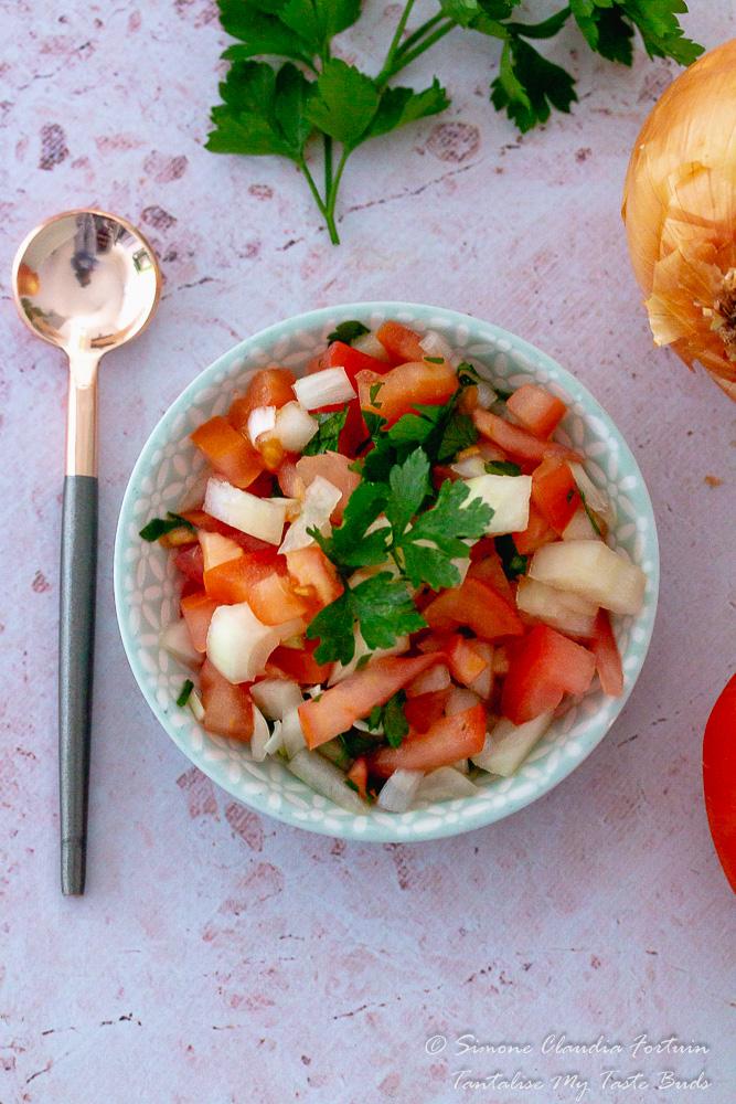 Pickled Chilli Tomato Onion sambal