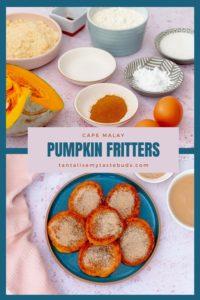 Pumpkin fritters Pampoen koekies pin IMAGE 2